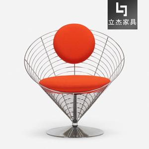 钢丝锥形椅Wire-cone-chair-B